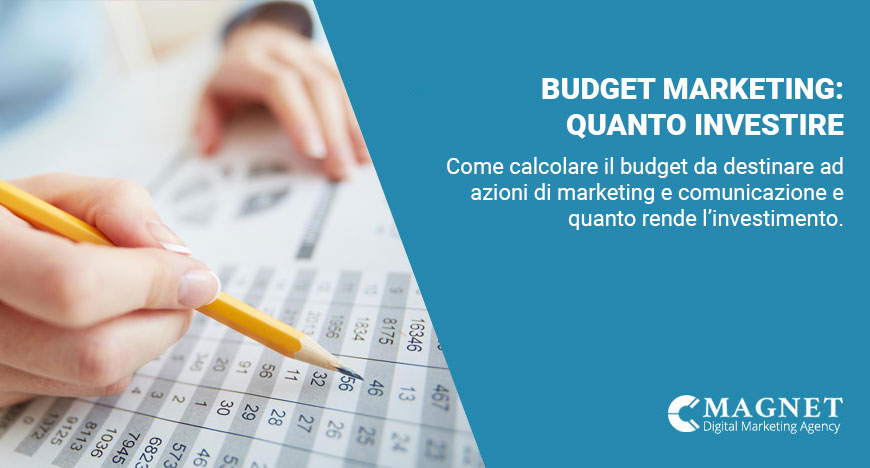 budget marketing, quanto investire in digital e web marketing