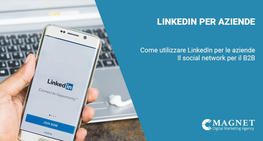 Linkedin per aziende: La guida
