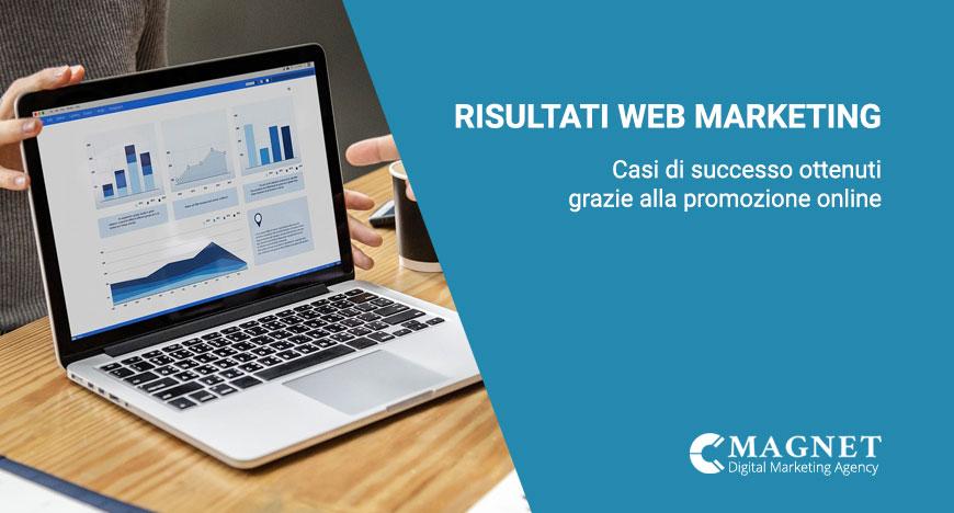 risultati web marketing casi di successo