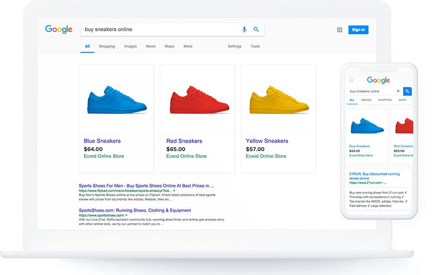 vendere su Google Shopping